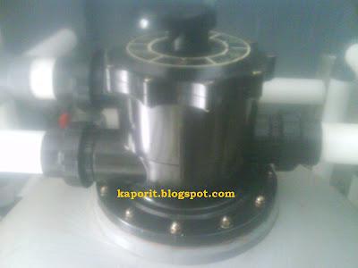 pool sand filter valve head