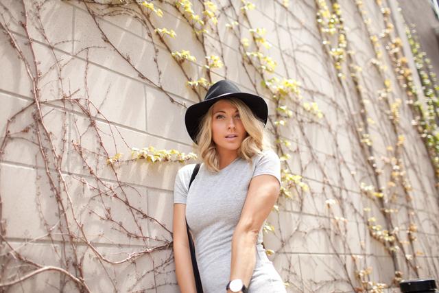Janessa Leone Vera Hat, Rag & Bone Booties, Brave suede fringe purse