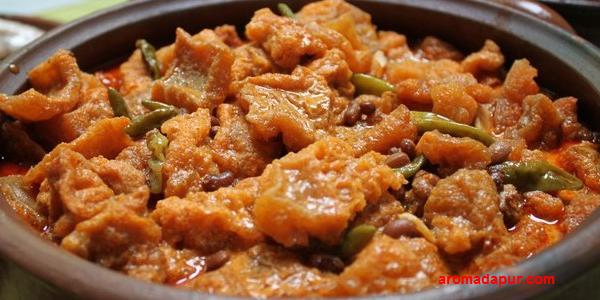 Sambel Goreng Krecek kacang Tolo -aromadapur.com