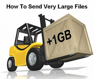 WAYS OF SENDING LARGE FILES VIA INTERNET