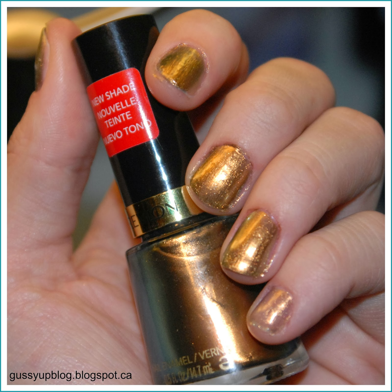 Review and Swatches: Revlon Nail Enamel No. 933 Chameleon