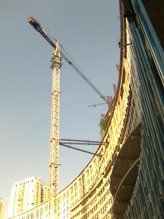 Foto proyek konstruksi