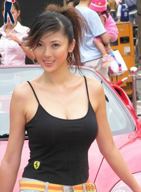Taiwan Beautiful Showgirl Cindy Chen Xin Ting 陳馨婷