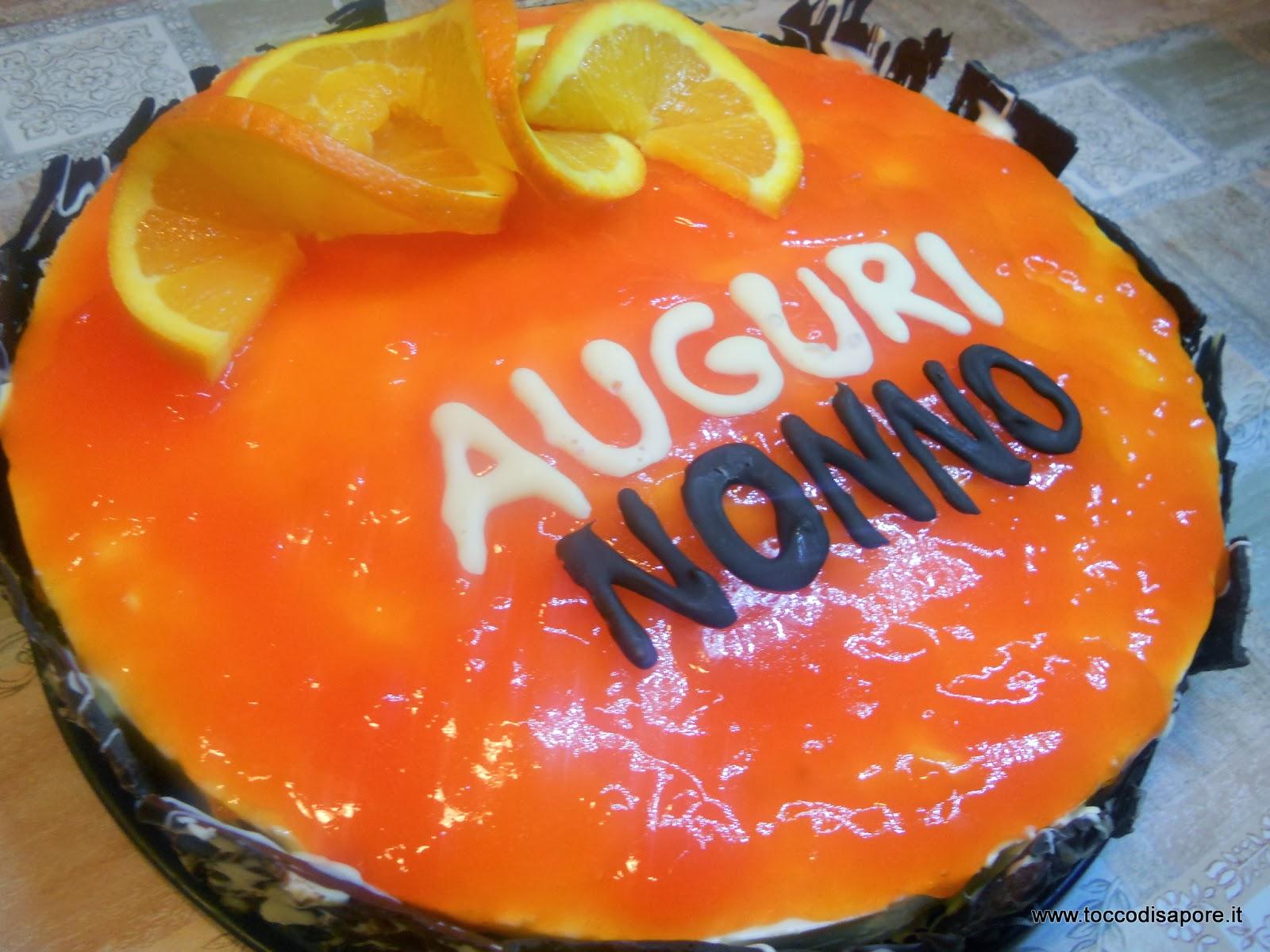 Torta bavarese all'arancia