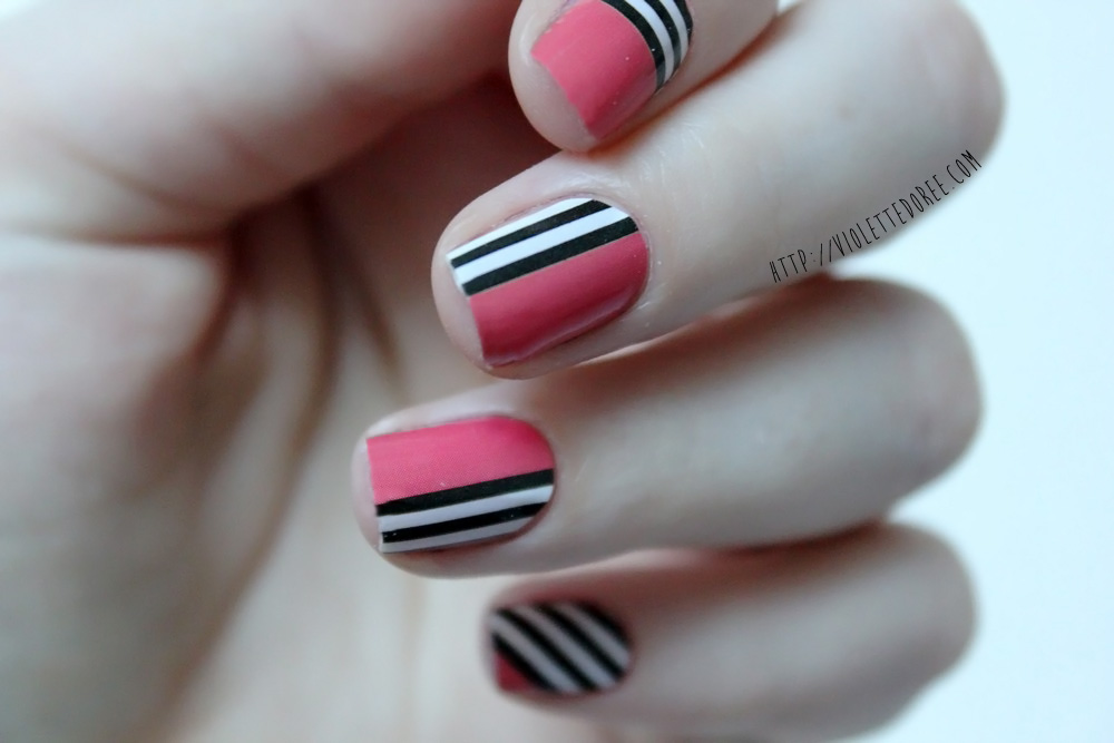 violette dor e blog nail art beaut models own instant nail art nail patch. Black Bedroom Furniture Sets. Home Design Ideas