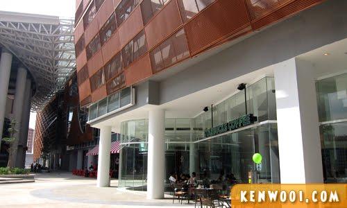 paradigm mall exterior