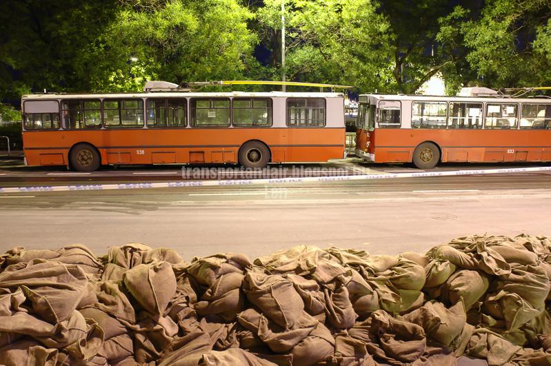 Ziu trolibuszok az árvízi védekezésben, transportandair.blogspot.hu Len