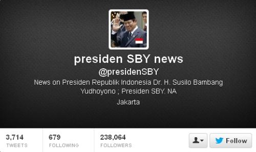 Twitter Presiden SBY News @presidenSBY