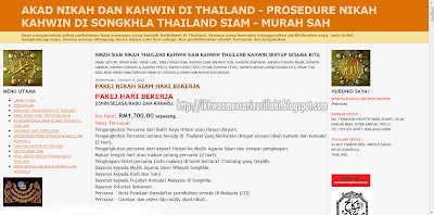 Pakej Akad Nikah Di Thailand Guna Internet