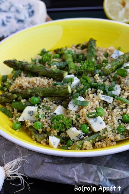 Komosa ryżowa szparagi