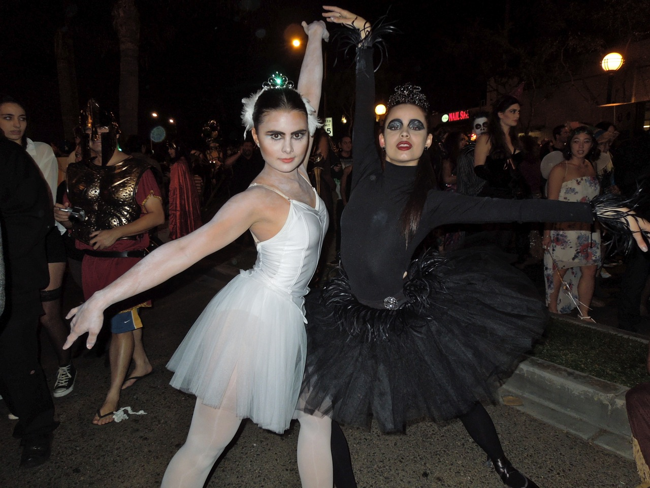 black swan west hollywood halloween carnaval. Black Bedroom Furniture Sets. Home Design Ideas
