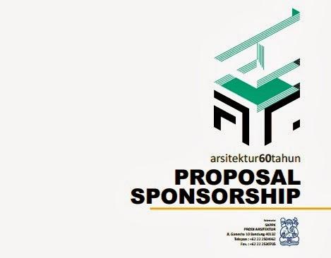 Contoh Proposal Sponsor Untuk Even Arsitektur