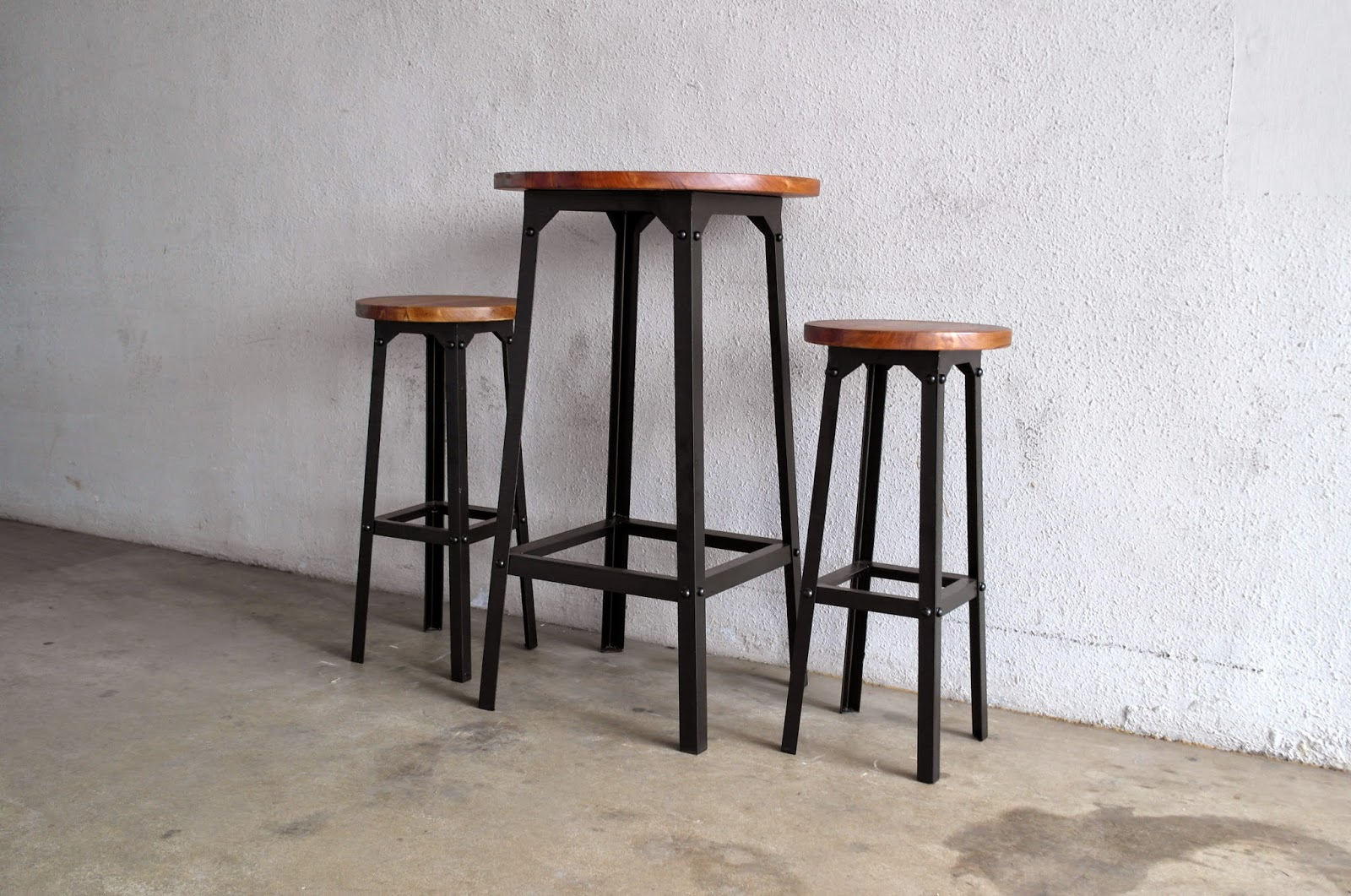 Industrial Pub Table Sets Industrial And Metal Furniture At Second Charm Second Charm