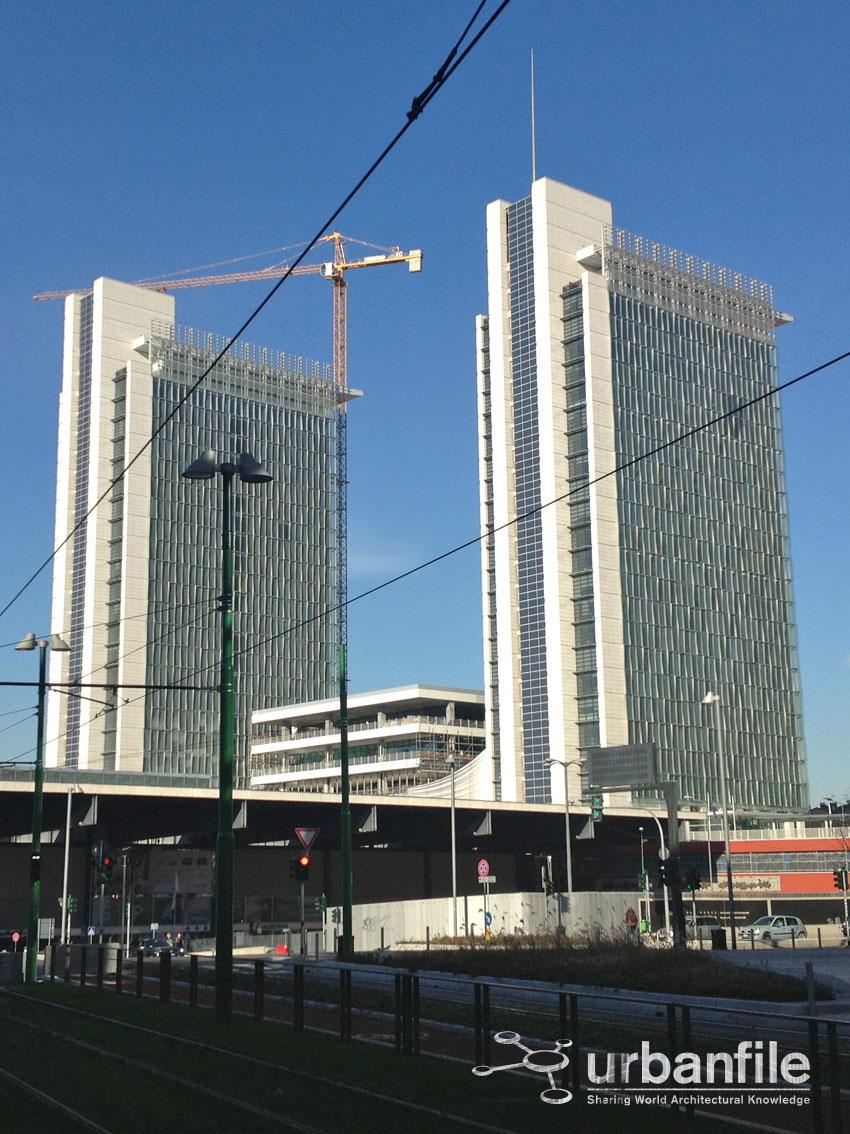 Milan projects construction page 25 skyscrapercity - Binario italo porta garibaldi ...