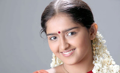 Tamil Actress Sanusha Hot in Red Half Saree Photos