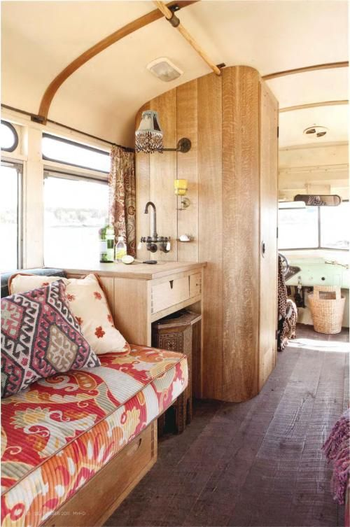 La fabrique d co combi van camping car et caravane for Design caravan renovation ideas home