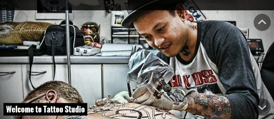 Tattoo Studio Responsive WordPress Theme