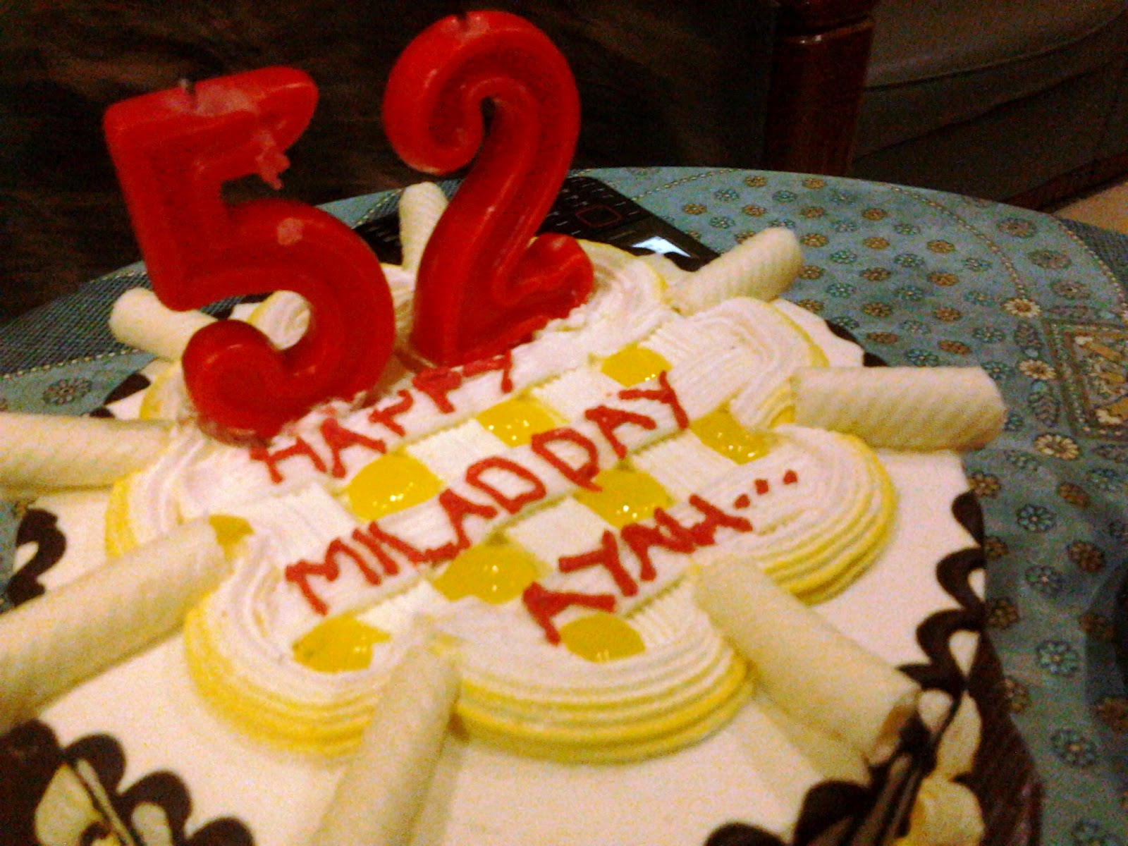 PANGGUNG SANDIWARA: ayah selamat ulang tahun.