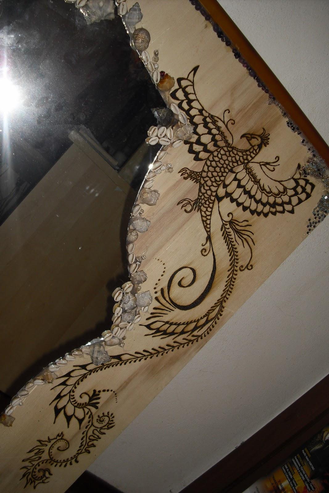 Dany 39 s handmade works works - Decorazioni pirografo ...