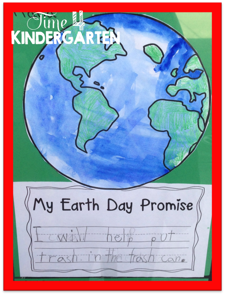 Earth Day writing and art