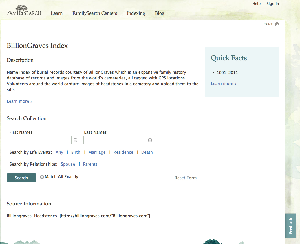 Baltimore county maryland genealogy learn familysearch org - What They Mean Is That There Is A New Feature In Familysearch Org Not A New Familysearch Feature