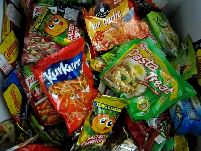 processed instant foods
