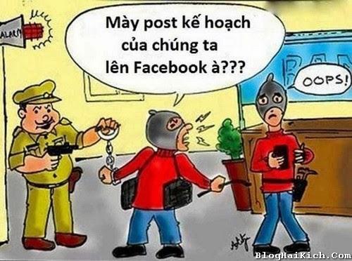 Ảnh hài hước cuồng Facebook