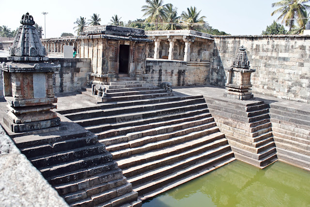 Pushkarni or stepped well, belur