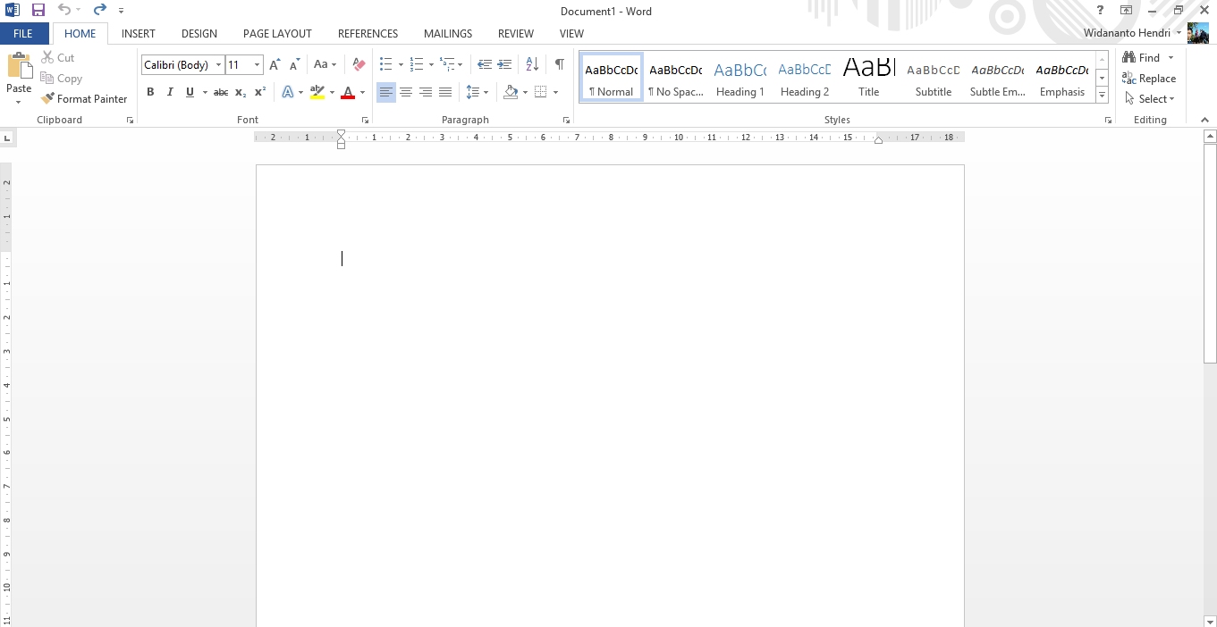 Buka Aplikasi Microsoft Word