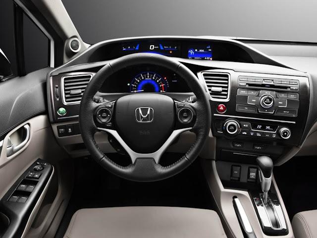Novo Honda Civic 2014 - painel