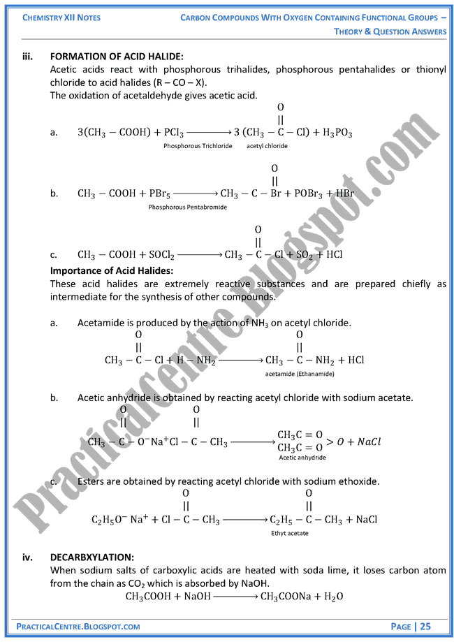 compounds-with-oxygen-containing-functional-groups-theory-and-question-answers-chemistry-12th