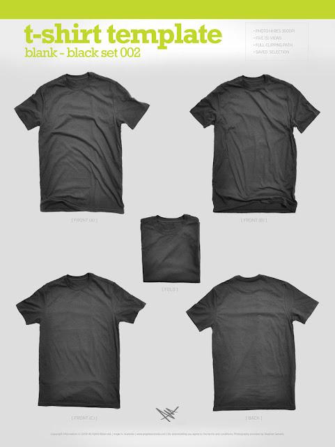 plantillas para diseño de camiseta y serigrafia