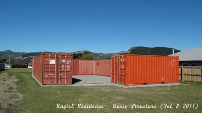 Shipping Container Homes 3x 40ft 1x 20ft Shipping Container Home Kuziel Residence Tai