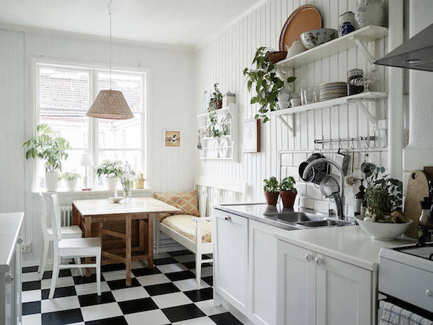 Elegant My Scandinavian Home: Two Lovely Swedish Kitchen Tours
