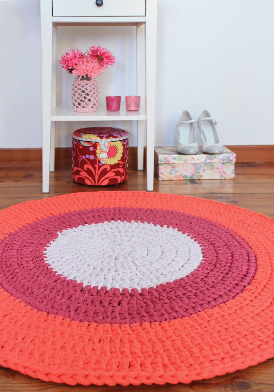 Favoloso Lorendesign: Nuovi tappeti crochet nella mia casa CO89