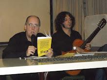con Pablo Montagna en la presentaciòn de Vèrtigos