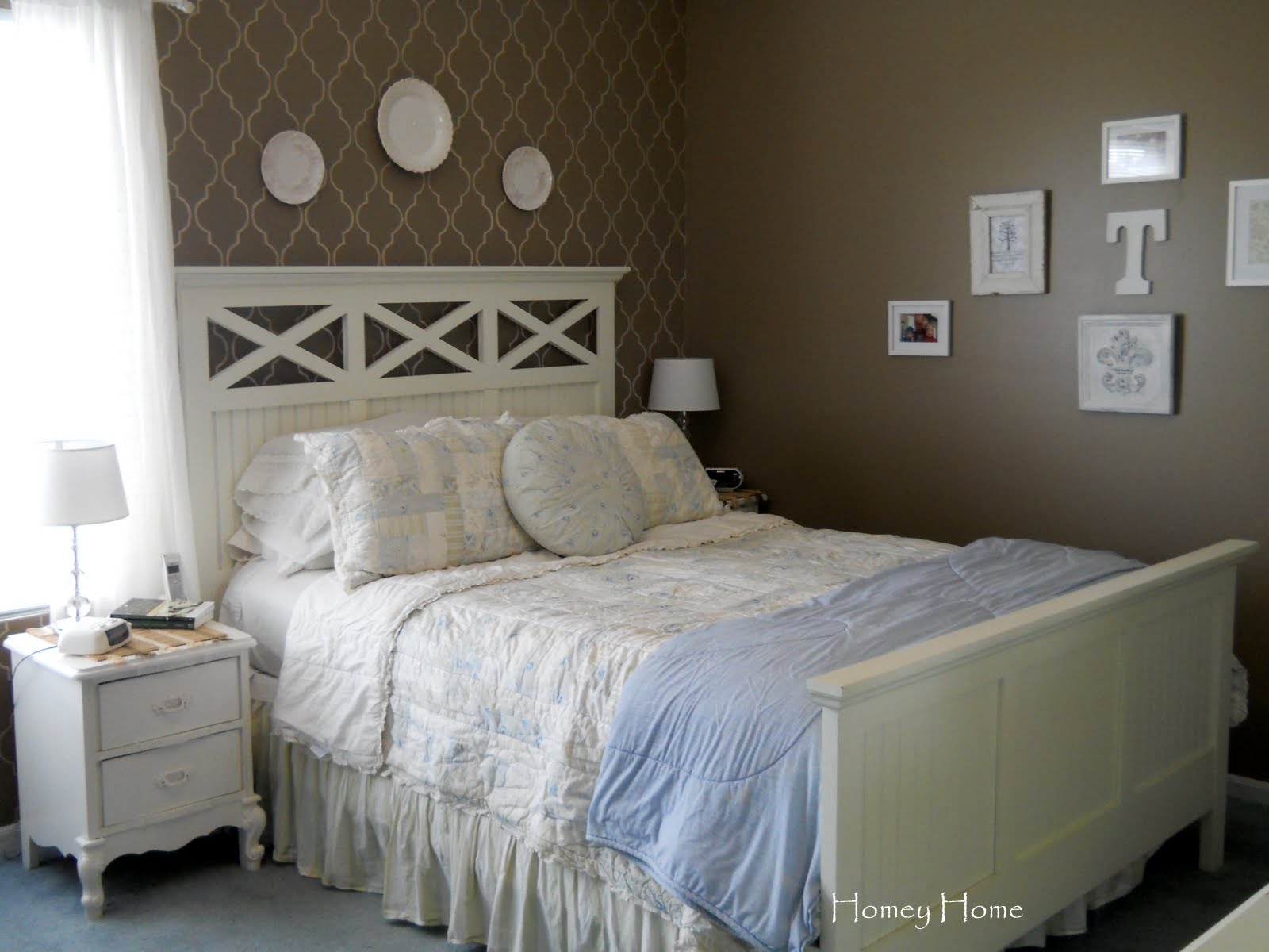 Master Bedroom Wall Project