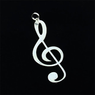 pingente nota musical