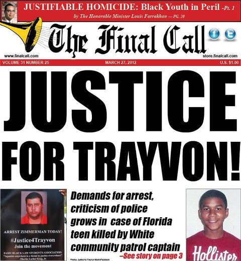Killing of Black teen, Trayvon Martin sparks outcry, national mobilization ...