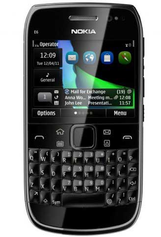 Spesifikasi Nokia e6