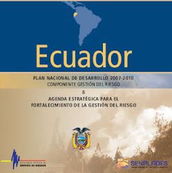 Paln Nacional de Gestión del Riesgo ECUADOR