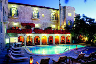 Lovely Travel Around the World RTW -family activities Budget Travel American Colony Hotel in Jerusalem