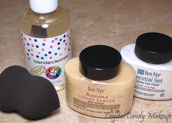 Camera Ready Cosmetics : Beautyblender, Ben Nye Banana et Neutral Set Powder