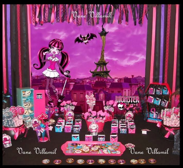 Candy bar Monster High