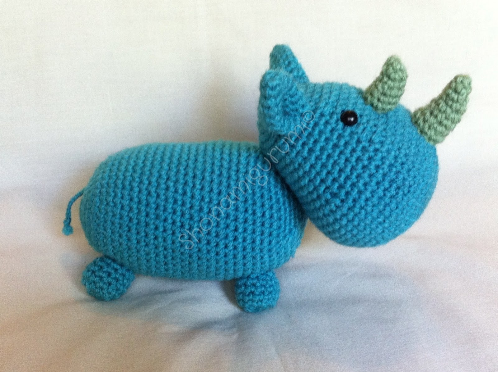 Crochet Star Wars Amigurumi Patterns : Shonamigurumi?: Ryno Rhinoceros