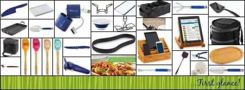 Pampered Chef Products Spring 2014