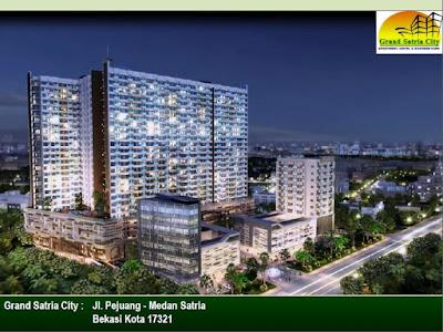 Grand satria City Apartemen Bekasi Harga Perdana Mulai 288Jutaan Medan Satria Bekasi