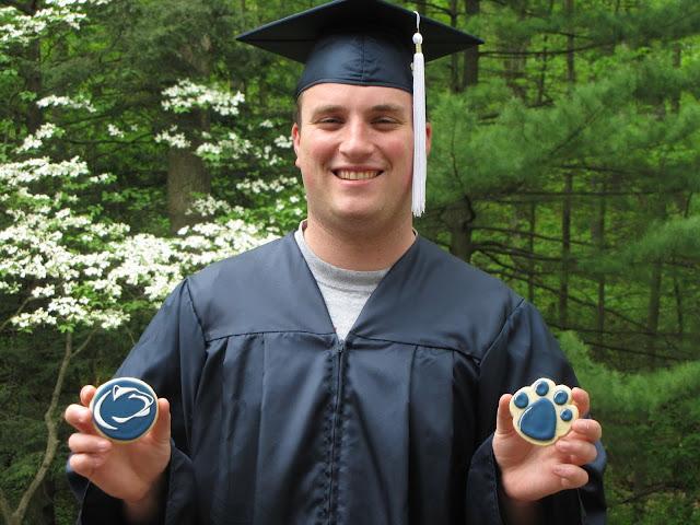 Penn State Grad cookies
