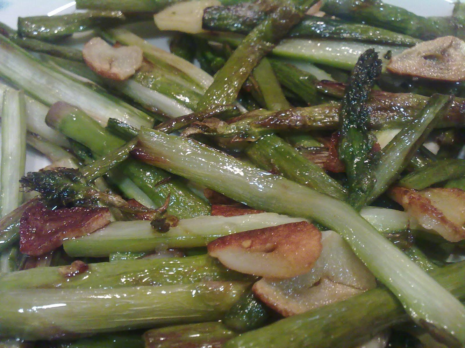 Mis recetas de cocina esp rragos trigueros a la plancha - Comidas con esparragos ...