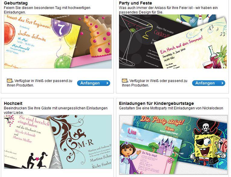 Mit Vistaprint Individuelle Einladungskarten Gestalten, Einladungs